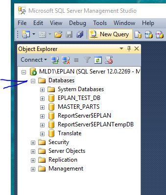 Use EPLAN with SQL Server Express – Multiline Designs