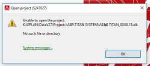 Installing EPLAN – Multiline Designs